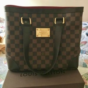 💯 Authentic Louis Vuitton Hampstead